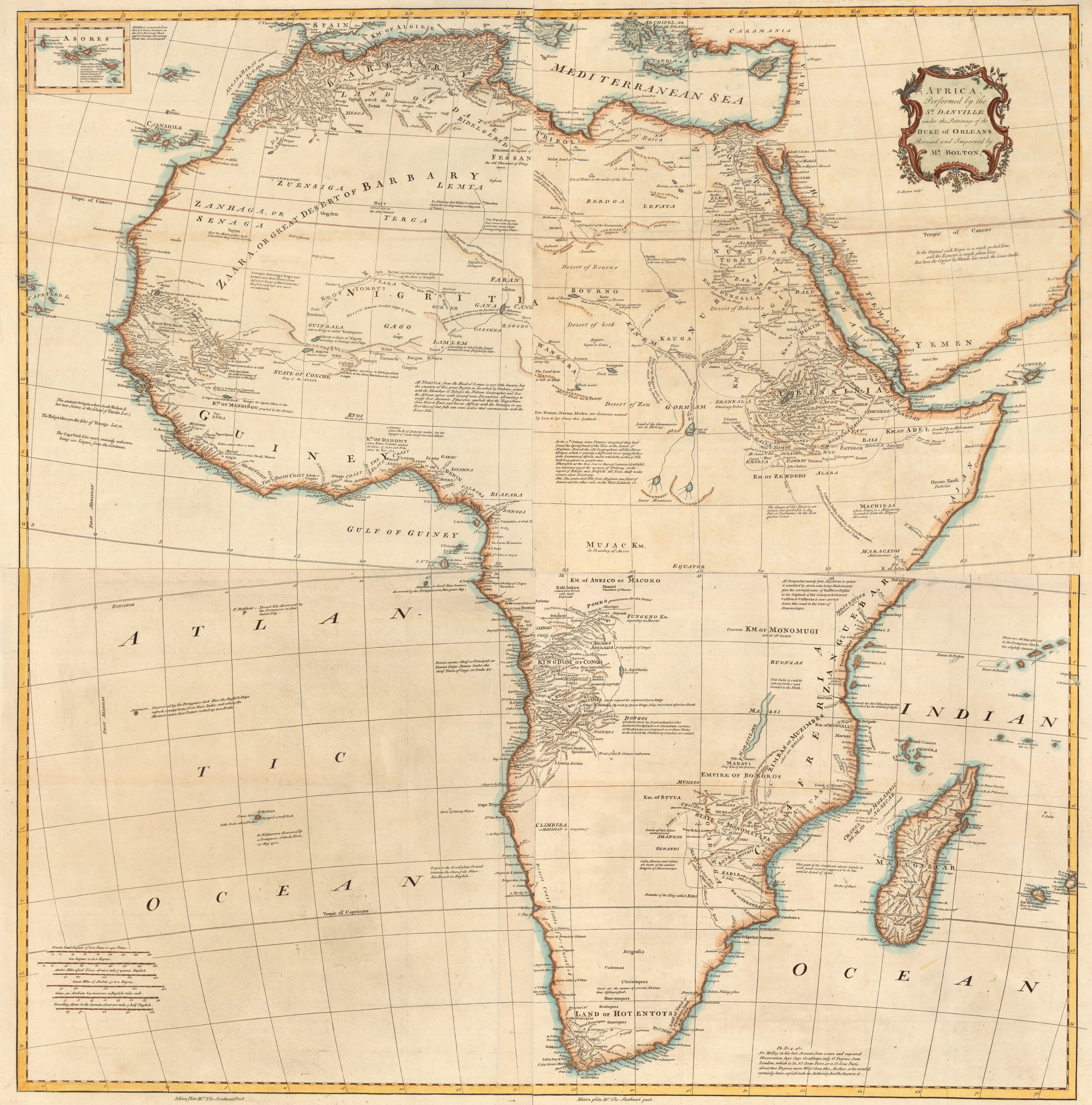 Map Of Africa Geography.Untitled Document